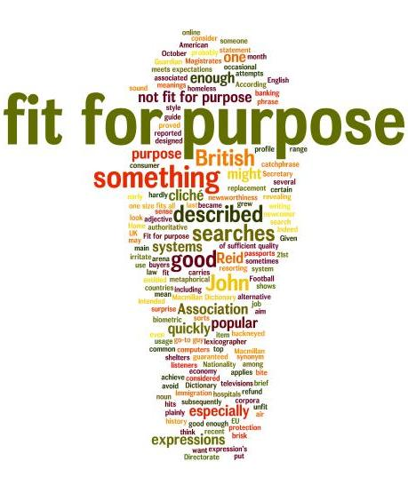 Is 'fit for purpose' fit for purpose? | Macmillan Dictionary