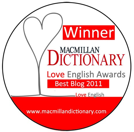 Winner of the Best Blog 2011 Award