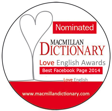 Love English Awards - Best Facebook Page - Vote for us
