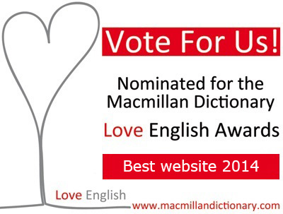 Love English Awards - Best Website - Vote for us
